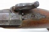 ENGRAVED Antique HENRY DERINGER c. 1850s .44 CALIBER Percussion BELT Pistol Henry Deringer's Famous Pocket/Belt Pistol - 12 of 17