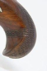 ENGRAVED Antique HENRY DERINGER c. 1850s .44 CALIBER Percussion BELT Pistol Henry Deringer's Famous Pocket/Belt Pistol - 15 of 17