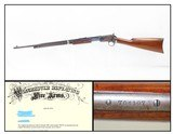 1925 Lettered WINCHESTER 1890 Pump/Slide Action TAKEDOWN Rifle in .22 WRFEasy Takedown Sporting/Hunting/Plinking Rifle