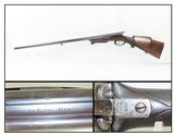 Rare DREYSE NEEDLE FIRE Shotgun PRUSSIAN Antique Double Barrel SxS 16 Gaugec1850s Predecessor to the Centerfire System!