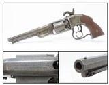CIVIL WAR Antique SAVAGE .44 Caliber NAVY Percussion SINGLE ACTION Revolver Scarce & Unique Two-Trigger Revolver