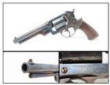 CIVIL WAR Antique STARR ARMS Model 1858 Army 44 Caliber PERCUSSION Revolver U.S. Contract Double Action Cavalry Revolver