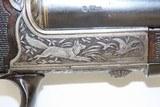GOLD INLAID German E. MUNCH & CIE Double Barrel SxS HAMMERLESS Shotgun C&RBEAUTIFULLY ENGRAVED 16 Gauge Germanic Fowling Piece! - 17 of 23