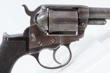 """EARLY Antique Etched Panel SHERIFF MODEL Colt 1877 """"LIGHTNING"""" .38 Revolver FACTORY LETTERED and CASED Double Action Colt - 20 of 21"""