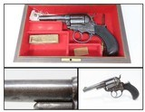 """EARLY Antique Etched Panel SHERIFF MODEL Colt 1877 """"LIGHTNING"""" .38 Revolver FACTORY LETTERED and CASED Double Action Colt - 1 of 21"""