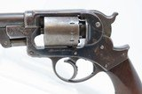 CIVIL WAR Antique STARR ARMS Model 1858 Army .44 Cal. PERCUSSION RevolverU.S. Contract Double Action Military Revolver - 4 of 19