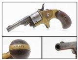 """Antique COLT """"Open Top"""" SPUR TRIGGER .22 Caliber RIMFIRE Pocket REVOLVERColt's Answer to Smith & Wesson's No. 1 Revolver"""