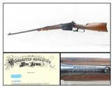 c1920 mfr. Lettered WINCHESTER Model 1895 Lever Action Rifle in .30-03 C&RROARING TWENTIES Era Production in Scarce .30-03 Caliber - 1 of 20