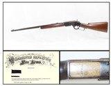 c1888 LETTERED SPECIAL ORDER Antique WINCHESTER Model 1873 .44-40 WCF RifleOctagonal Barrel, 1/2 Length Magazine, Shotgun Butt Stock - 1 of 22