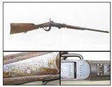 "Mid-CIVIL WAR Antique BURNSIDE Model 1864 ""5th Model"" SADDLE RING CarbineClassic PERCUSSION Carbine Made in Providence, RI"