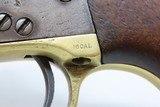 "c.1869 BRANDED ""Quarter Circle JHW"" Antique COLT Model 1851 NAVY .36 COWBOY Iconic WILD WEST Single Action Revolver! - 6 of 20"