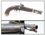 1852 Dated Antique HENRY ASTON U.S. Contract Model 1842 DRAGOON PistolUsed in the CIVIL WAR, INDIAN WARS, MEXICAN AMERICAN WAR