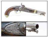 1847 Dated Antique HENRY ASTON 1st U.S. Contract Model 1842 DRAGOON PistolUsed in the CIVIL WAR, INDIAN WARS, MEXICAN AMERICAN WAR