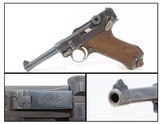 "GERMAN Weimar Era DWM ""Commercial"" LUGER Pistol C&R .30 Caliber/7.65x21mmVery Nice 1920s Sidearm!"