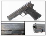 WWII Nazi-Occupation POLISH RADOM Vis 35 9x19mm Luger Pistol Slot/Lever C&R One of the Best Sidearms of World War II