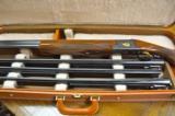 Browning P-2 Superposed Presentation Grade 4 Barrel Skeet Set