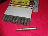 Winchester Vintage 375 H&H Magnum Bear Box Ammo Nice - 4 of 4