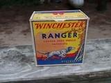 Winchester Ranger 12 gauge Box Vintage