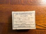 Sharps .52 Cal. Civil War Cartridges: original Box Of Ten - 7 of 9