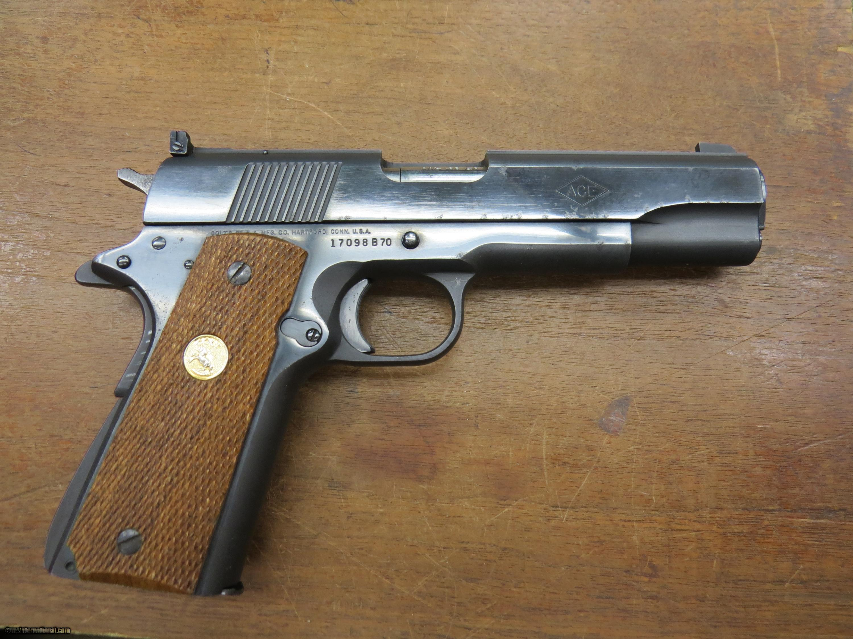 Used Ace For Sale Ohio >> Colt 1911 Ace 22lr Pistol Target semi auto w-case