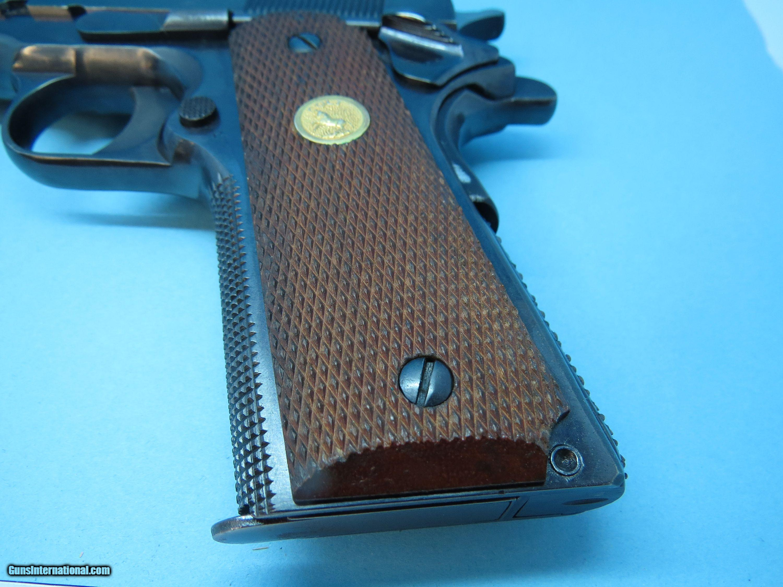 Colt Government Model 1911 John Giles Master Gunsmith Competition