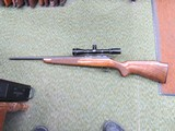 Sako P94S Made in Finland bolt action 22lr with a early Burris 6X Mini scope