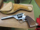 "H&R Sportsman 6"" Revolver 9 shot with leather Moose Brand Holster"