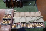 British Enfield 303 ammo 21 stripper clips and 20 extra rounds