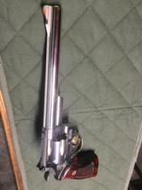 "Smith & Wesson Model 29-3 Revolver Nickel With 8 3/8"" Barrel