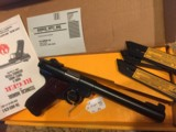 ((RARE))Ruger MK II Government Target Model - 3 of 6