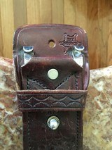 Basket Weave Belt Holster,Magazine Pouch and Handcuff Pouch - 3 of 6