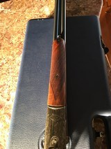 Beretta 20ga471 Silver Hawk SXS Shotgun In Factory Case - 9 of 11