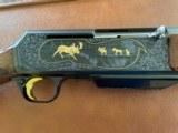 Very Rare Browning BAR Grade V Rifle In 338 Win Mag