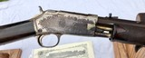 EARLY 3 TEXAS SHIPPED DIGIT FACTORY ENGRAVED COLT LIGHTNING SMALL FRAME RIFLE 1 OF A KIND - 10 of 15