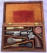 Cased 1st First Model Colt Root 1855 - 2 Digit