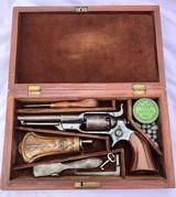 "Cased Long Barrel Colt Root Model 7A 4 1/2"""