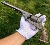 Original Documented Tiffany Grip Colt Model 1861 Navy Conversion