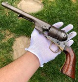 US Martial Colt Richards Model 1860 Conversion - 1 of 15