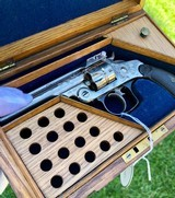 Cased & Engraved Smith & Wesson Double Action Revolver - 9 of 15