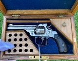 Cased & Engraved Smith & Wesson Double Action Revolver - 1 of 15