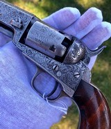 Factory Engraved Colt 1849 Listed on Gustave Young Records by SN# - 13 of 15