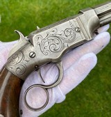 Scarce Smith & Wesson Volcanic Pistol - 13 of 15