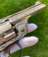 New York Engraved Smith & Wesson .38 Double Action 2nd Model Revolver - 10 of 17