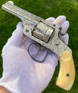 New York Engraved Smith & Wesson .38 Double Action 2nd Model Revolver - 1 of 17