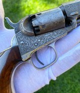 Factory Engraved Civil War Colt 1849 Pocket Revolver - 14 of 20