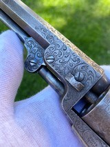 Factory Engraved Civil War Colt 1849 Pocket Revolver - 5 of 20
