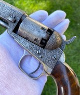 Factory Engraved Civil War Colt 1849 Pocket Revolver - 2 of 20