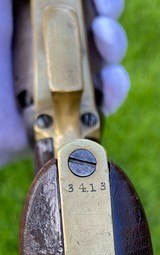 "Scarce Squareback Colt 1st Model Dragoon w/ Scarce ""US Dragoons"" Cylinder Scene - 15 of 20"