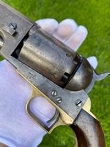 "Scarce Squareback Colt 1st Model Dragoon w/ Scarce ""US Dragoons"" Cylinder Scene - 2 of 20"