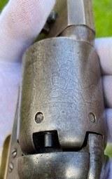 "Scarce Squareback Colt 1st Model Dragoon w/ Scarce ""US Dragoons"" Cylinder Scene - 6 of 20"